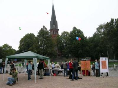 Ballonaktion Kirchsteinbeker Marktplatz 23