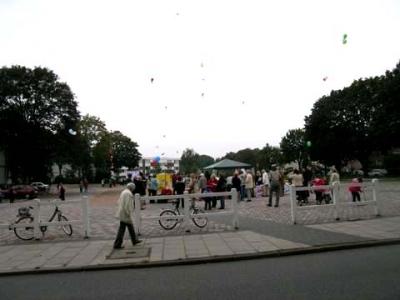 Ballonaktion Kirchsteinbeker Marktplatz 24