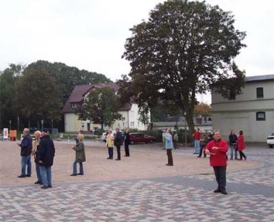 Ballonaktion Kirchsteinbeker Marktplatz 8
