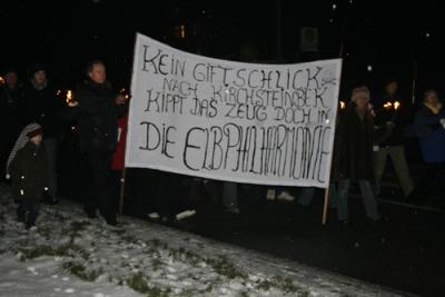 Protestmarsch 13