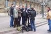 Pressetermin vor dem Hamburger Rathaus 3
